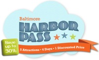 Baltimore's Harbor Pass Vacation Package package information