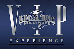 VIP Experience at Universal Studios package information