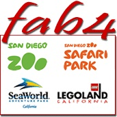 The Best of San Diego! Fabulous Four Combo Package package information
