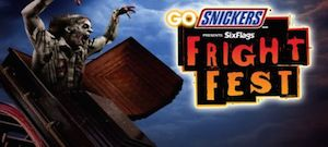 Six Flags Discovery Kingdom - Fright Fest Package package information