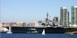 Step into Naval History on San Diego's Embarcadero package information