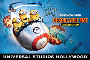 Universal Studios Family Vacation Package - package information