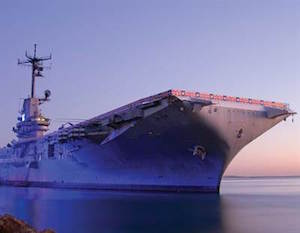 USS Lexington Museum Vacation Package package information