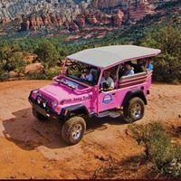Scottsdale Pink Jeep Tours Package package information