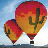 Up in the Air - Arizona Hot Air Balloon Experience package information
